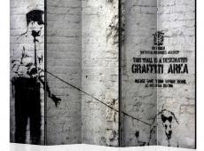 Paraván - Graffiti Area [Room Dividers]